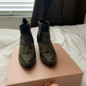 Dolce Vita Studded Booties (gold)